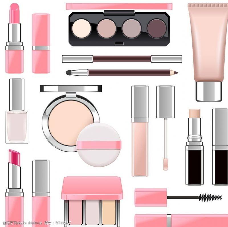 眼影各种各样化妆品图片