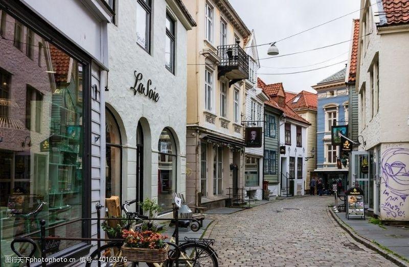 购物中心国外商业步行街图片