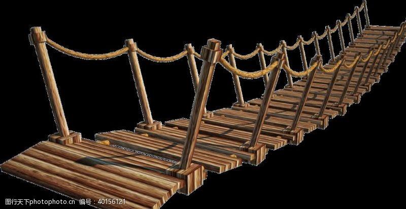 小木桥木桥图片