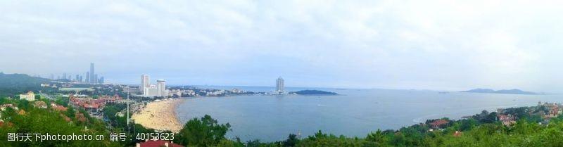 海边风景青岛海岸线风光图片