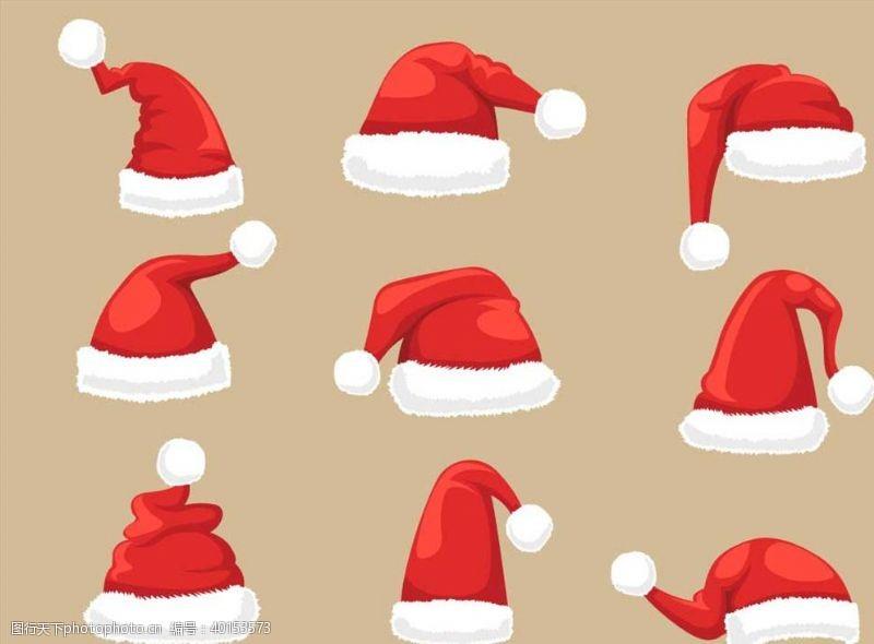 圣诞节图标圣诞节帽子图片
