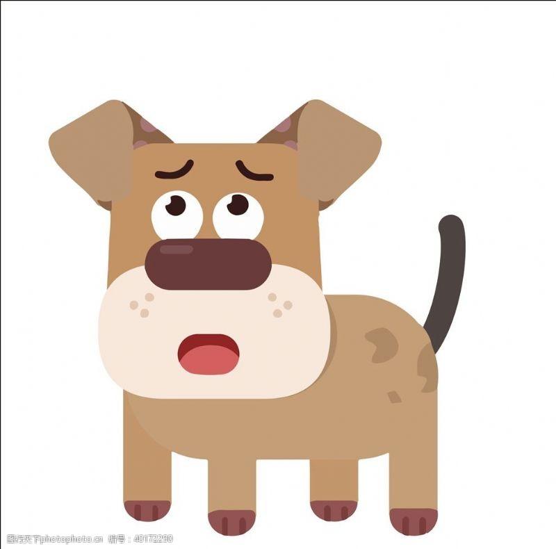 宠物小狗矢量小狗图片