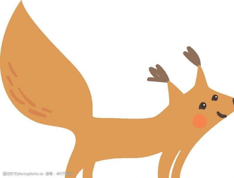 宠物之家手绘卡通动物图片