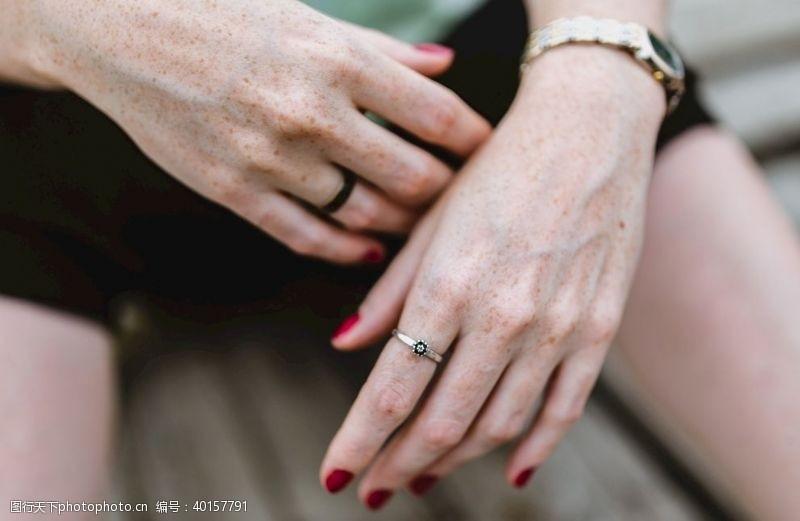 指甲手图片