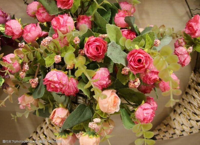 花束鲜花花蓝图片