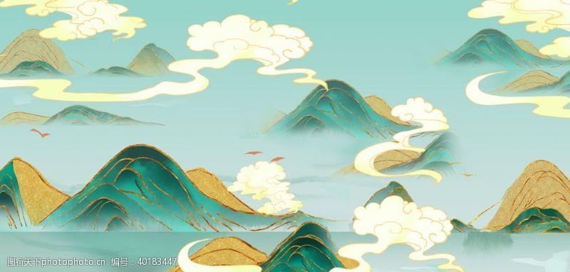 文艺背景中国风背景图片