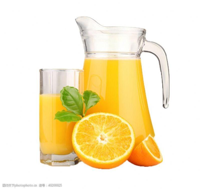 鲜榨果汁展架橙汁免扣素材图片