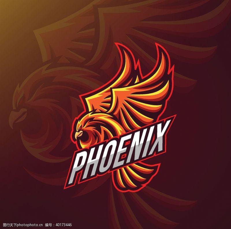 国外logo创意飞鹰logo图片