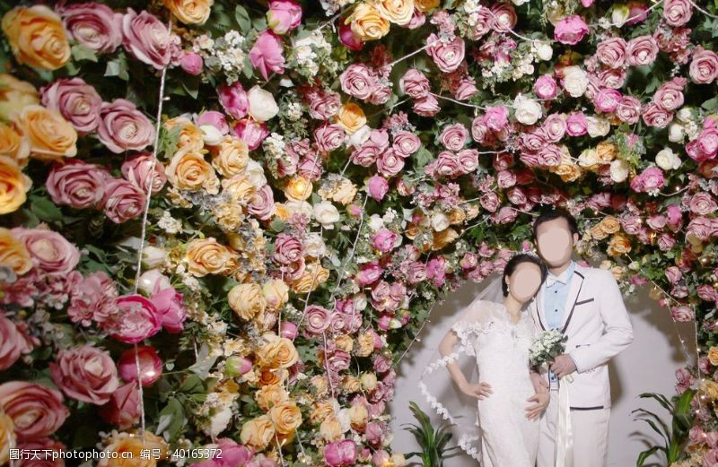 人物素材花卉鲜花粉色花花植物图片