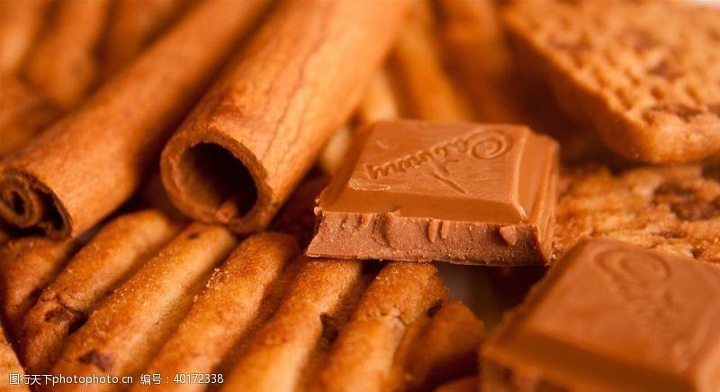 冰块巧克力图片