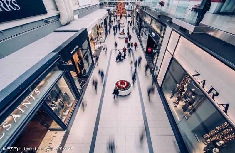 商业街商店图片