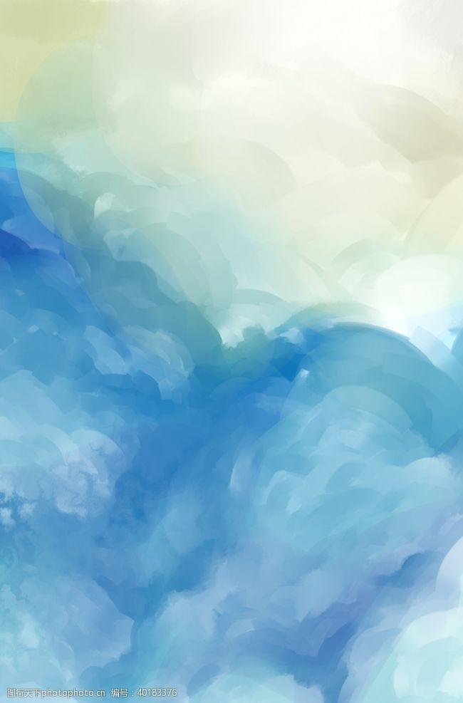 文艺背景中国风水墨背景图片