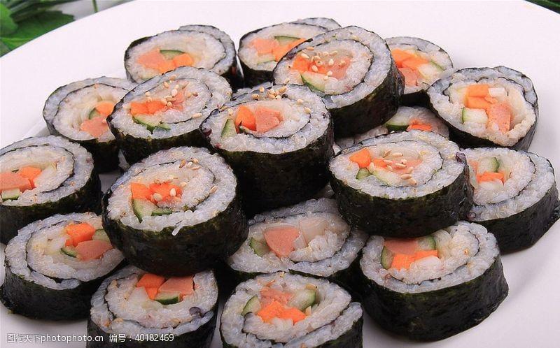 紫菜包饭图片
