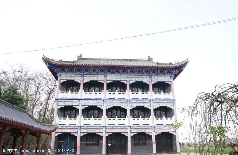 屋檐古建筑图片