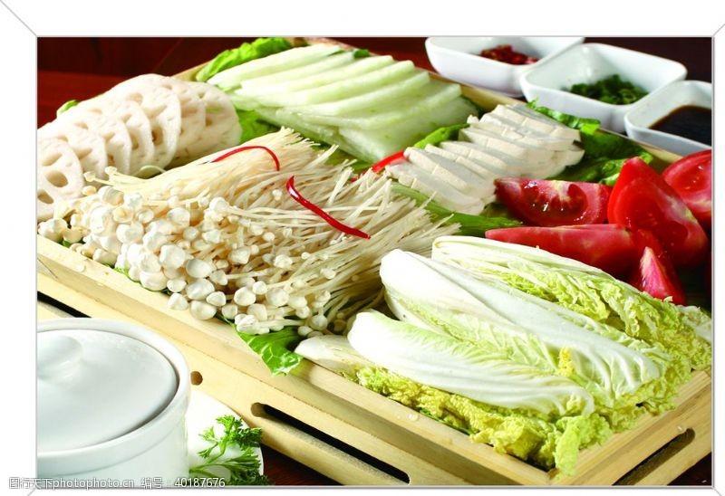 点餐单火锅食材图片