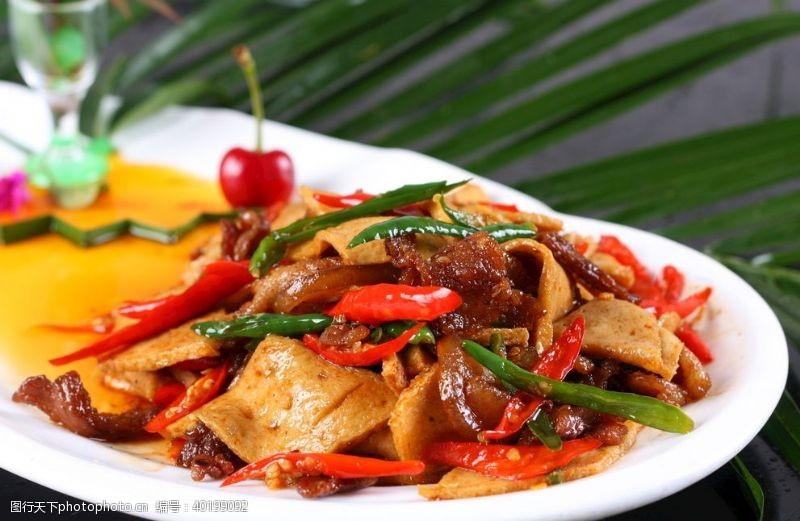 泉水豆腐小炒肉图片