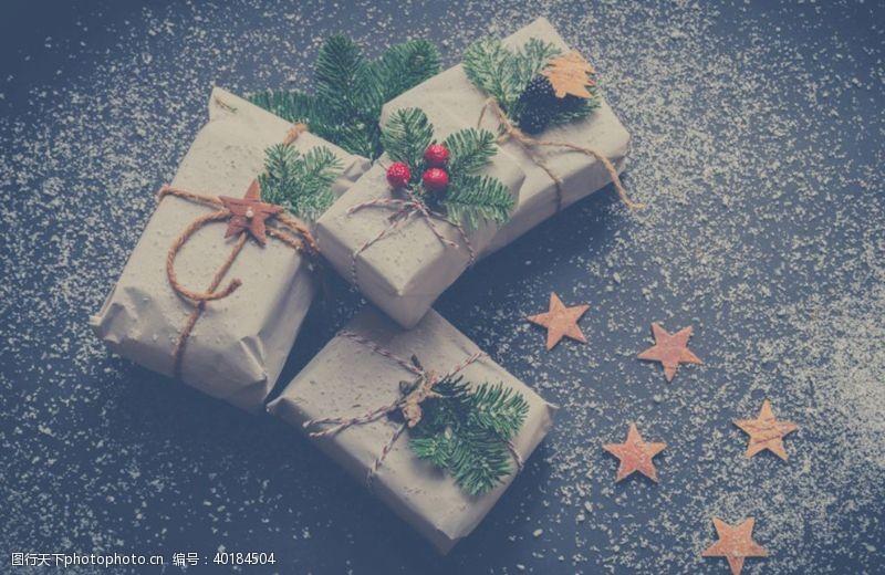 圣诞节日圣诞礼物图片