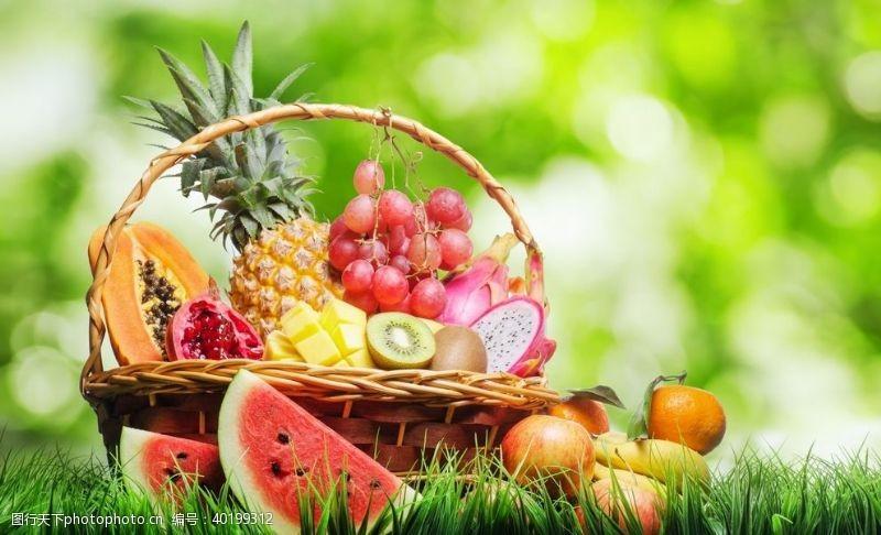 火龙水果篮图片