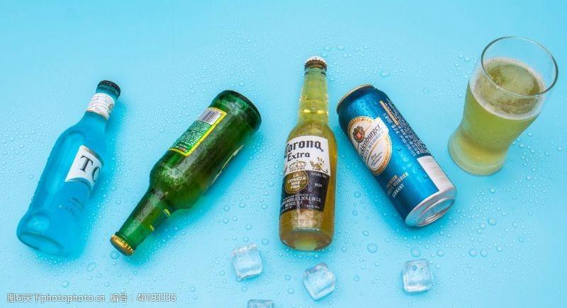 啤酒节海报夏日冰镇啤酒图片