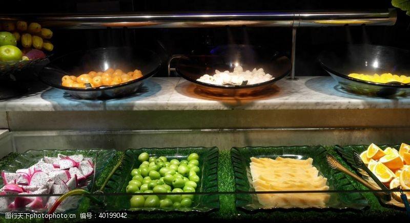 火龙自助餐水果类图片