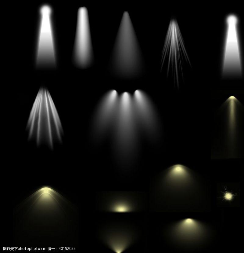 光圈射灯图片