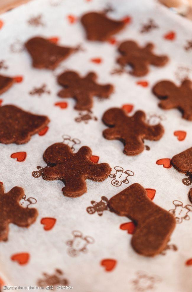 圣诞节姜饼图片