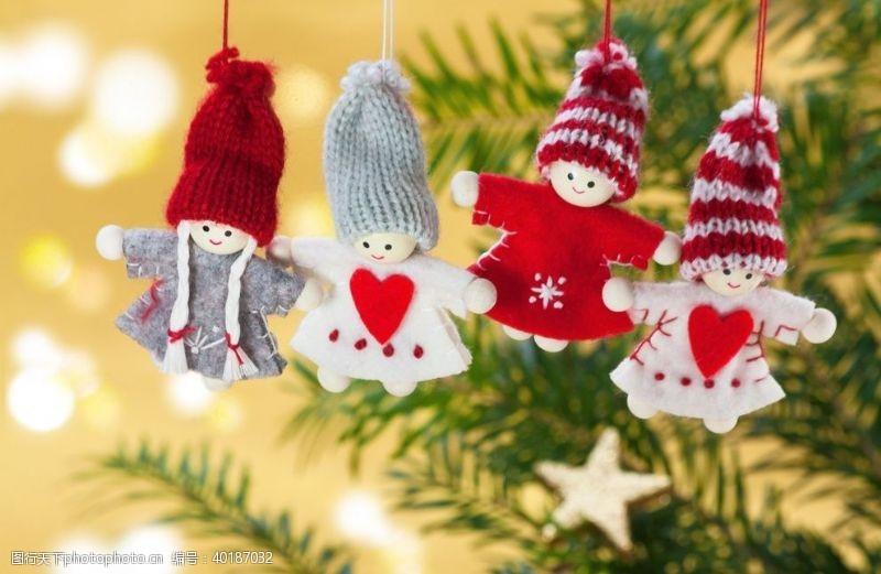 节日促销圣诞娃娃图片