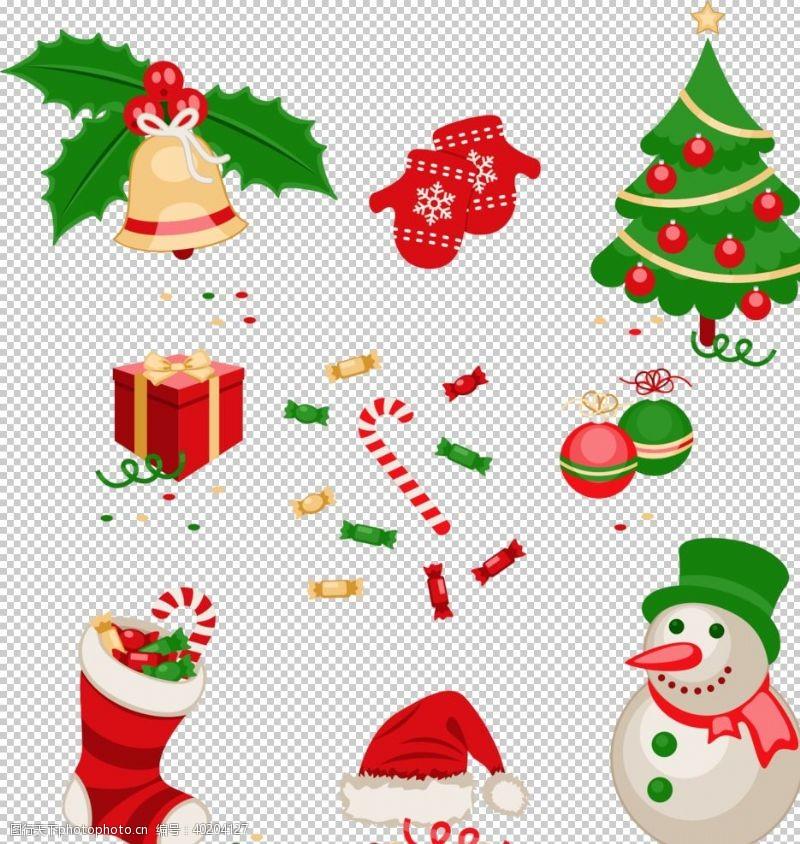 圣诞元素集合图片
