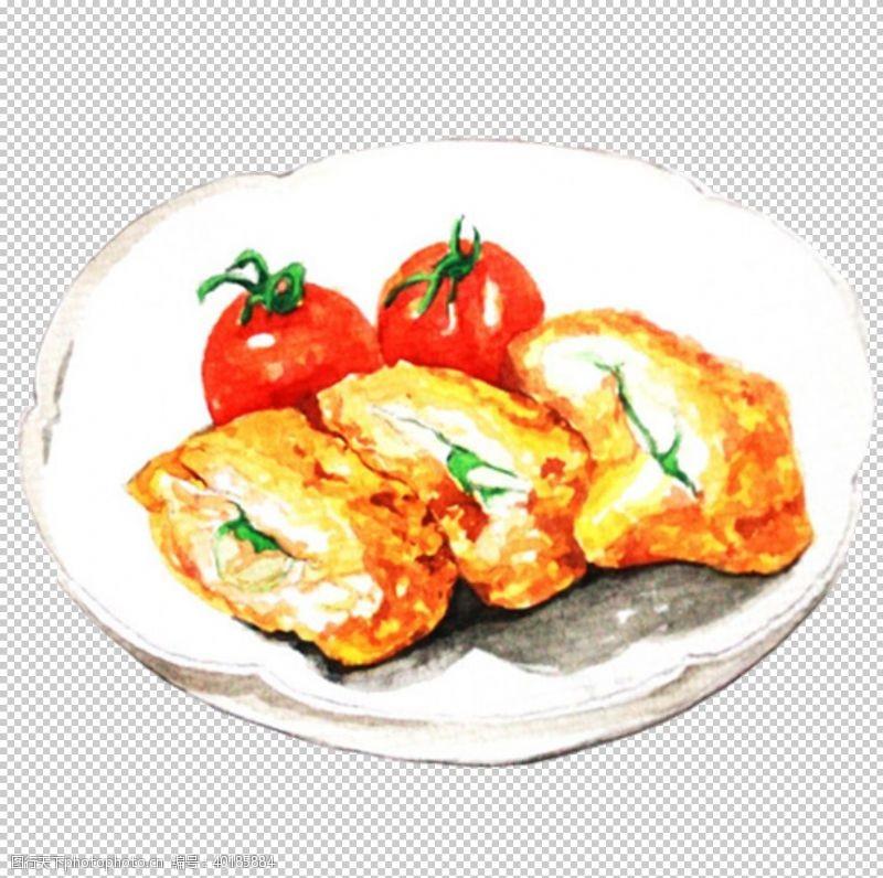 炸鸡排图片