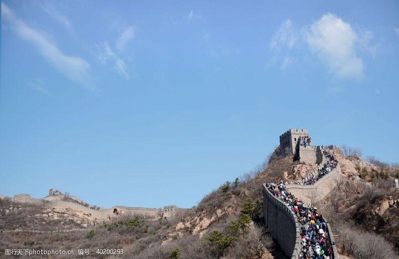 风景区北京八达岭长城图片