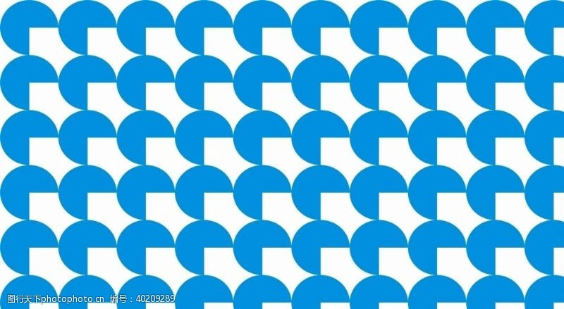 蓝底扇形底纹素材图片