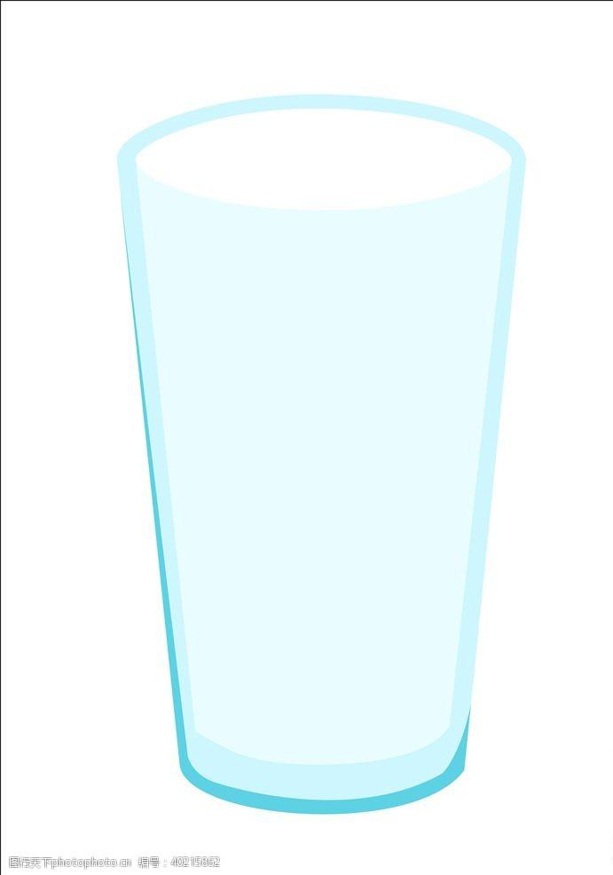杯子设计矢量玻璃杯图片