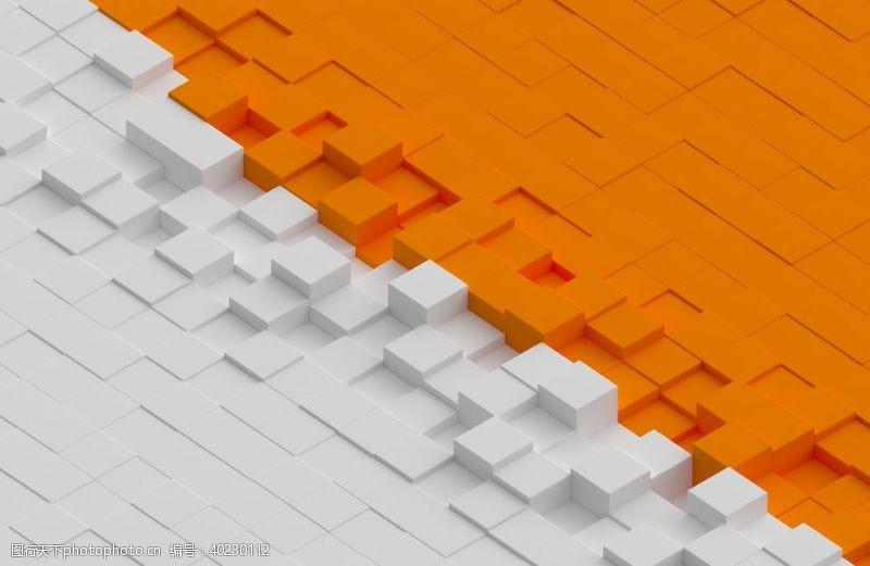 3d模型3D抽象结构图片