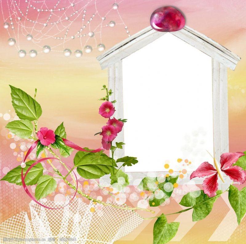 摄影模板春之花图片