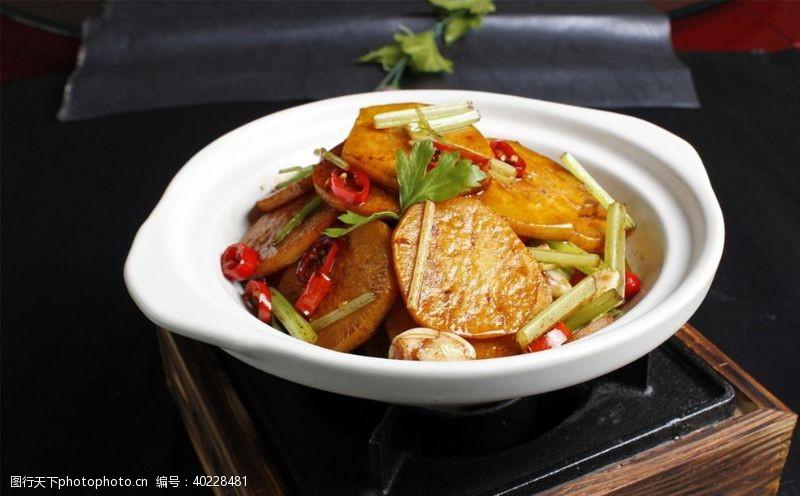 干锅萝卜片图片