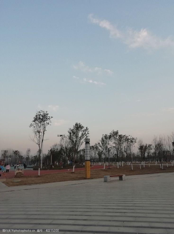 绿色素材公园素材图片