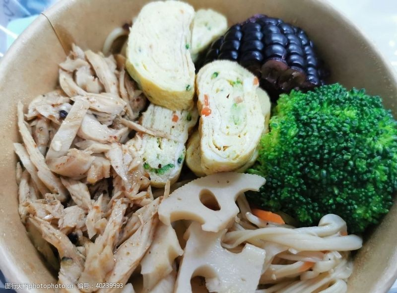 健康食品减肥餐图片