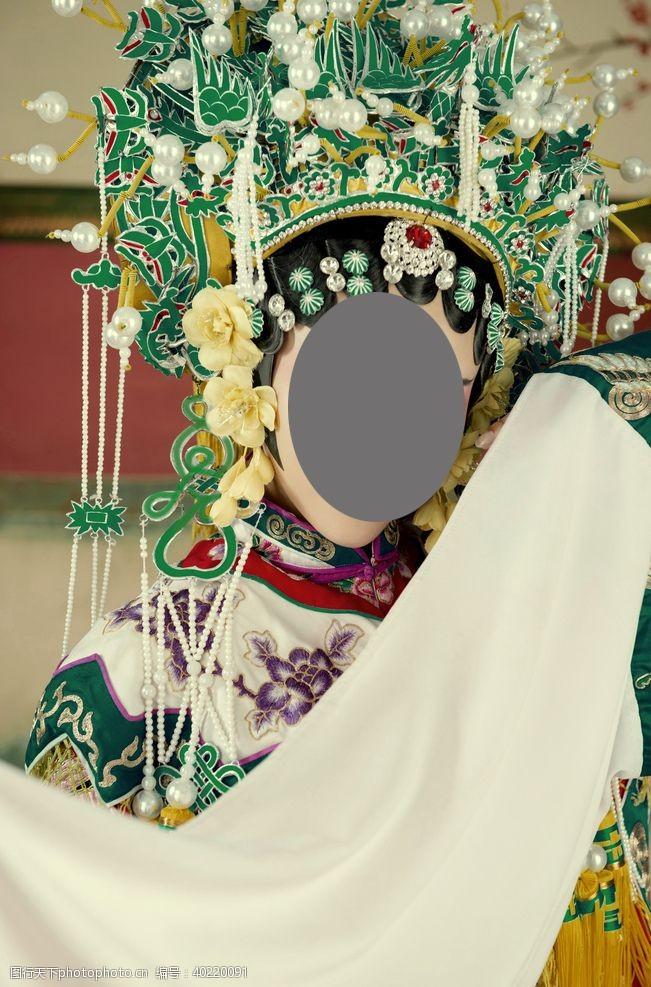 人物写真京剧醉贵妃图片