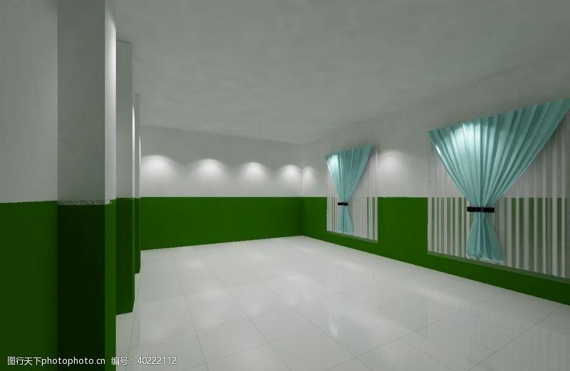 卧室装修培训室室内装修效果图图片
