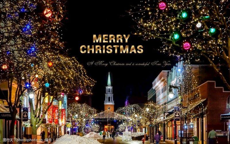 圣诞节贺卡圣诞卡片图片