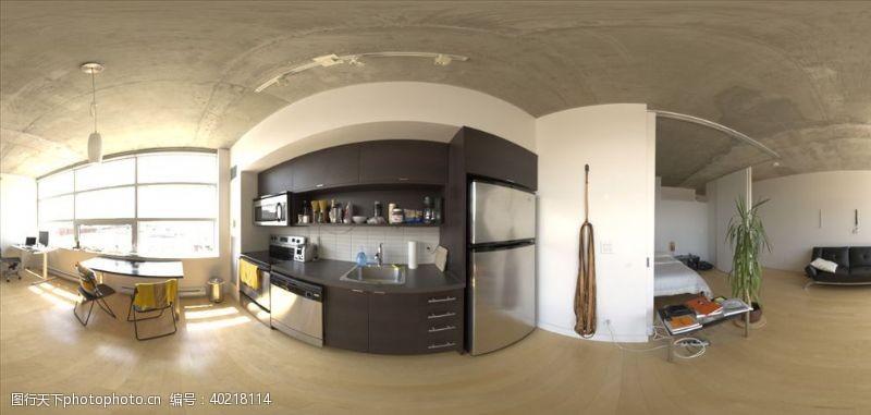 3d贴图室内阳光hdr贴图阁楼房间图片