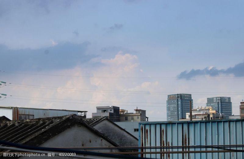 瓦片天空图片