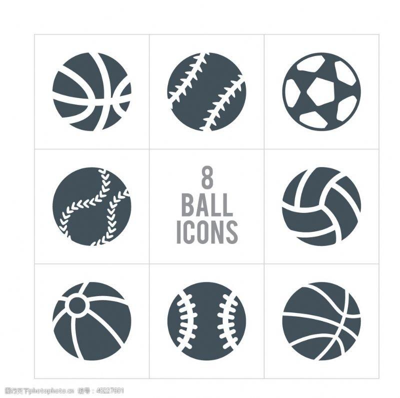足球广告运动图标图片