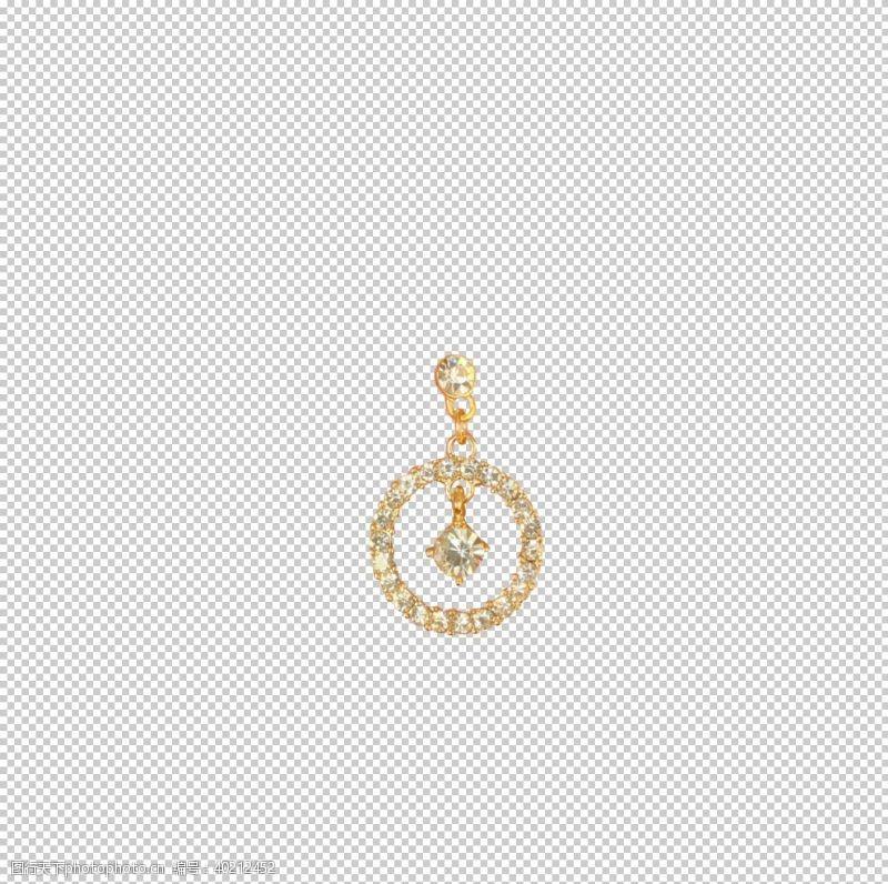 钻石耳环图片