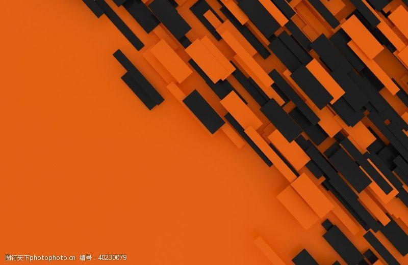 圆环3D抽象结构图片