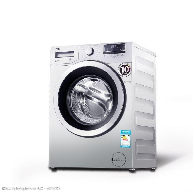 倍科滚筒洗衣机图片