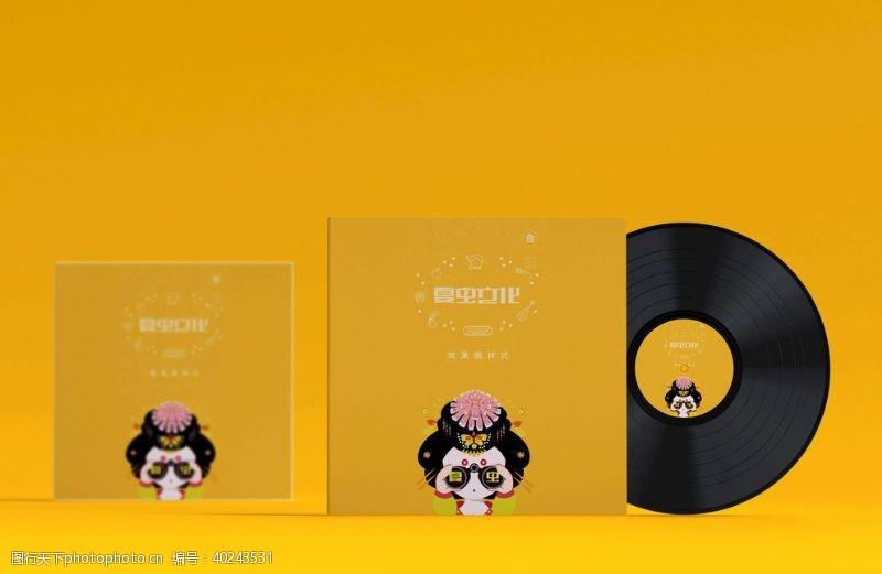 唱片CD样机图片