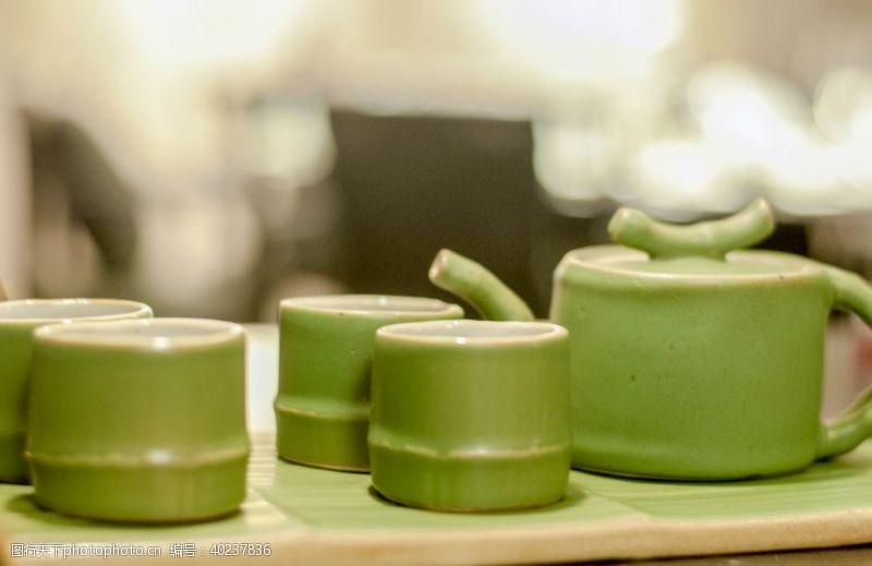 茶文化茶具摄影图片