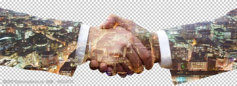 握手诚信图片