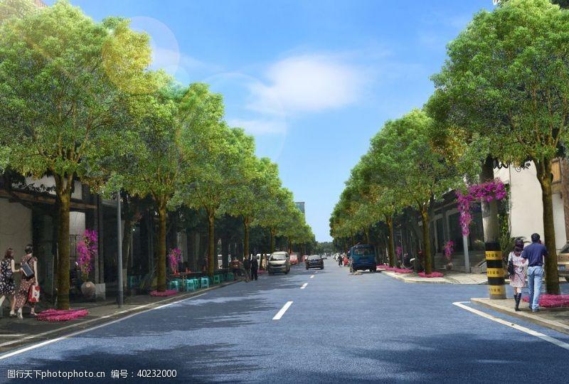 城镇改造提档升级图片